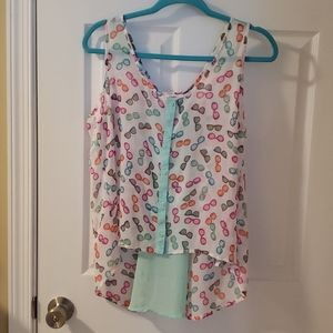 Candies tank top blouse